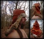 Barbarian hat by Noir-Azur