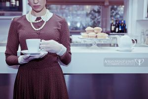 Cafe in Paris IV by blueanto