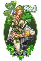 St Patricks Day Print by jamietyndall