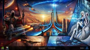 Magic Tower by haryarti