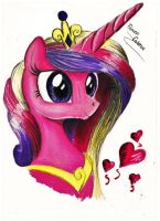 Princess Cadence by koniareczka10