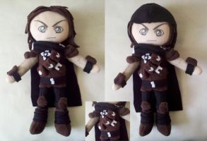 Custom Mercer Frey Plush by dollphinwing