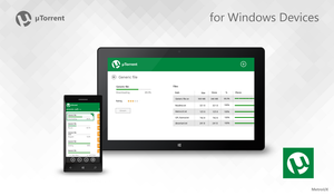 uTorrent for Windows Devices by MetroUX