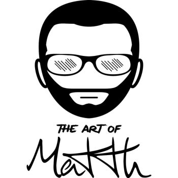 Logo The Art Of Matth by the-art-of-matth
