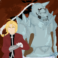 The Elric Brothers by mei-d