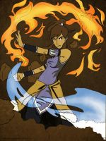 Korra by Littlekings