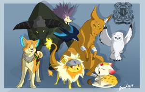 Vongola box animals by Bonday