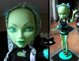 Custom Doll - Sea Witch by blk-kitti