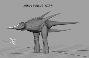 Arrowtongue -WIP- 9 by Demmmmy