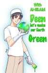 Let's make our earth GREEN by Nayzak
