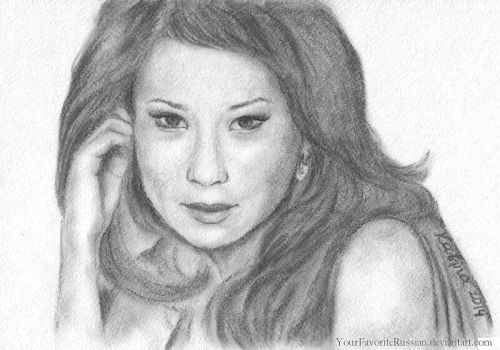1267 Lucy Liu by YourFavoriteRussian