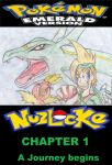 Emerald Nuzlocke Chapter 1 cover by shadicover90000