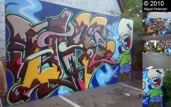 Old Graffiti Project by chillvibes
