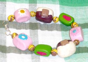 Lush Bubble bar Bracelet by CountessCocoFang