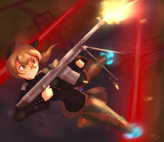 Firefight | Commission by BookmarkAHead