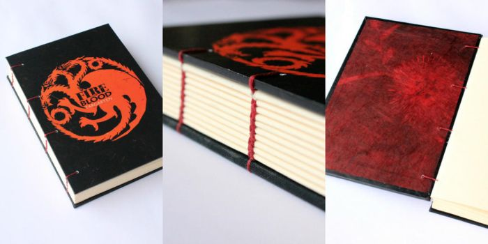 Game of Thrones Journal - Targaryen by GatzBcn