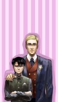 Erwin and Levi by juneyijun