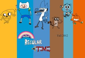 The Amazing Regular Time by JoltikLover