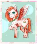 [SPEED-PAINT]Lily Pad - Mlp OC by TheGirlWhoLivesHere