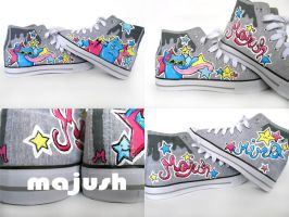 monster shoes by majush