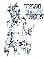 Theo L. Deus Sketch by JRTribe