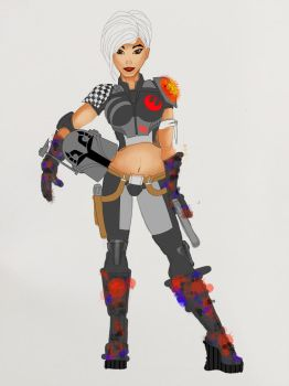 Sabine base colors 3 by michaeltorres