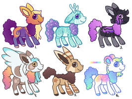 Cloudaroos 5 OPEN by CatbunAdopts