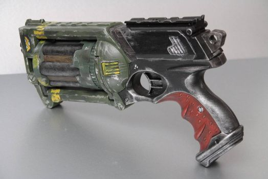 Nerf Maverick paintjob by kunstfoll