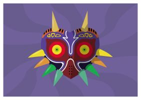 Majoras Mask by adamjamescooper