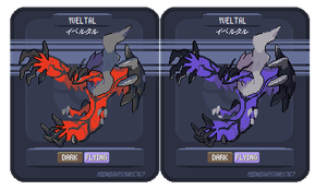 Yveltal Sprite by DreamerssKingdom