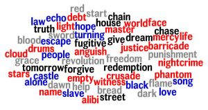 Les Miserables Wordle by JackieStarSister