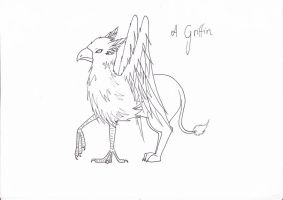 A Griffin by tenshinohana
