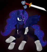 Luna Al Ghul (redesigned) by BlackBeWhite2k7