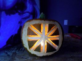 pumpkin of british proportions by Sketchis