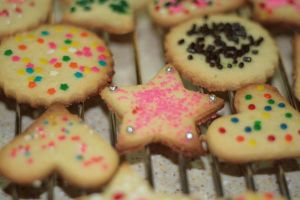 Cut-out sugar cookies by chrissie-ness