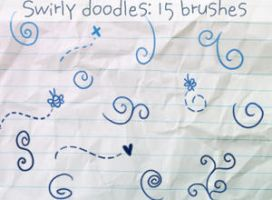 Swirly Doodles Brushes by ibeliever