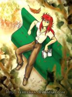 Kurama kun at the park by eERIechan