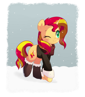 Snow Walk by hikariviny