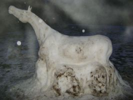 Snow Horse Picture 4 by TamHorse