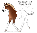 1334 - Nordanner Foal Design (recycled ID) by Ikiuni