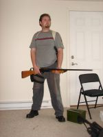 Dale with guns stock 11 by Tensen01