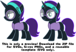 MLP Resource: Nyx 02 by ZuTheSkunk