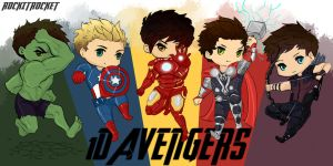 1D Avengers by Laurir