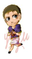 Football Chibi commission by Ahsayuni-Love