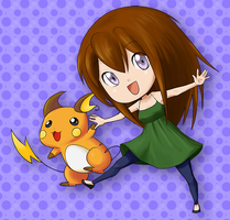 Request: Jamie and Raichu by azusa-chan