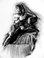 Figure Drawing Frontal by SPikEtheSWeDe