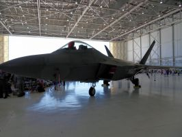F-22 by bustersnaps