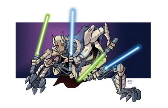 Grievous by MARR-PHEOS