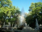 Fuente y arcoiris. by Boucless