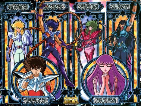 Saint Seiya Art Crystal Puzzle by nekomimipii